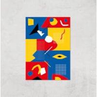 Do You Like Colour? Giclee Art Print - A4 - Print Only