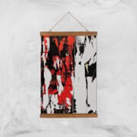 Show Your True Self Giclee Art Print - A3 - Wooden Hanger