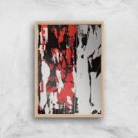 Show Your True Self Giclee Art Print - A3 - Wooden Frame