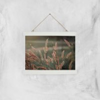 Blowing In The Wind Giclee Art Print - A4 - White Hanger