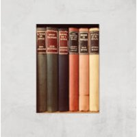 Old Book Shop Giclee Art Print - A4 - Print Only - Shop Gifts