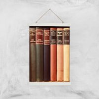 Old Book Shop Giclee Art Print - A3 - White Hanger - Book Gifts
