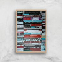 I Like To Read Ok! Giclee Art Print - A4 - Wooden Frame - Read Gifts