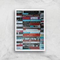 I Like To Read Ok! Giclee Art Print - A4 - White Frame - Read Gifts