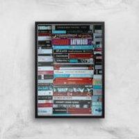 I Like To Read Ok! Giclee Art Print - A4 - Black Frame - Read Gifts