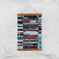 I Like To Read Ok! Giclee Art Print - A3 - Wooden Hanger - Read Gifts