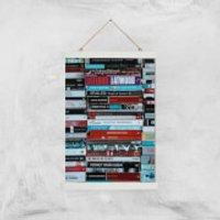I Like To Read Ok! Giclee Art Print - A3 - White Hanger - Read Gifts