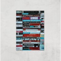 I Like To Read Ok! Giclee Art Print - A2 - Print Only - Read Gifts