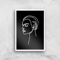 Had Enough Tonight Giclee Art Print - A4 - White Frame