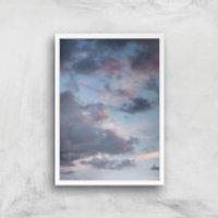 Murky Skies Giclee Art Print - A3 - White Frame