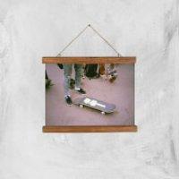 Broken Board Giclee Art Print - A4 - Wooden Hanger