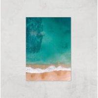 Beach Giclee Art Print - A4 - Print Only - Beach Gifts