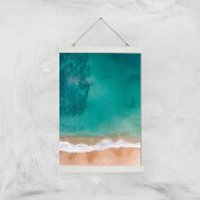 Beach Giclee Art Print - A3 - White Hanger - Beach Gifts