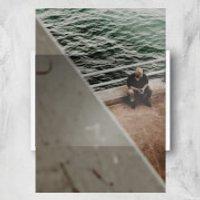 Reflecting On Life Giclee Art Print - A4 - White Frame