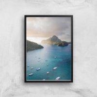 Armada Giclee Art Print - A4 - Black Frame