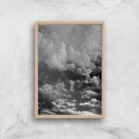 Storm Clouds Giclee Art Print - A2 - Wooden Frame
