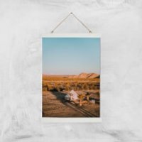 Camping Adventure Giclee Art Print - A3 - White Hanger - Camping Gifts