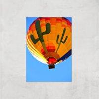 Hot Air Balloon Giclee Art Print - A2 - Print Only - Hot Air Balloon Gifts