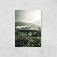 Steam Train Giclee Art Print - A4 - Print Only - Train Gifts
