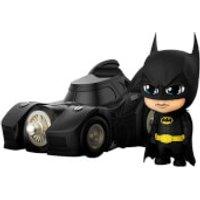 Hot Toys Batman (1989) Cosbaby Mini Figures Batman with Batmobile 12 cm