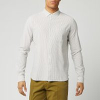YMC Men's Dean Shirt - Olive/Ecru - L
