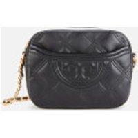 Tory Burch Womens Fleming Soft Camera Bag - Black