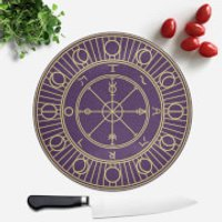 Wheel Of Fortune Round Chopping Board - Chopping Board Gifts