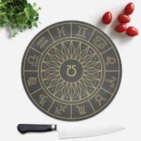 Horoscope Wheel Round Chopping Board - Chopping Board Gifts