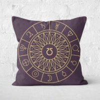 Decorative Planet Symbols Square Cushion - 50x50cm - Soft Touch - Cushion Gifts