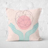 Enlightenment Square Cushion - 50x50cm - Soft Touch - Cushion Gifts