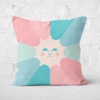 Colours Of Day And Night Square Cushion - 50x50cm - Soft Touch - Cushion Gifts