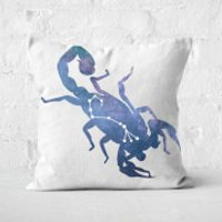 Cosmic Scorpio Square Cushion - 50x50cm - Soft Touch - Cushion Gifts