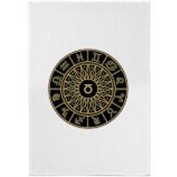 Decorative Horoscope Symbols Cotton Tea Towel - Towel Gifts