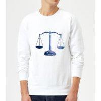 Libra Sweatshirt - White - M - White