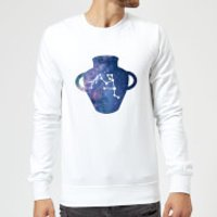 Aquarius Sweatshirt - White - L - White