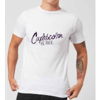 Capricorn As Fuck Men's T-Shirt - White - XL - White