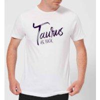 Taurus As Fuck Men's T-Shirt - White - L - White