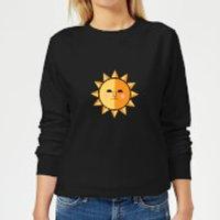 The Sun Women's Sweatshirt - Black - L - Black