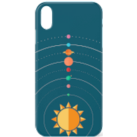 Solar System Phone Case for iPhone and Android - iPhone 7 - Tough Case - Gloss