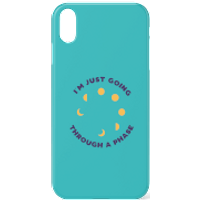 I'm Just Going Through A Phase Phone Case for iPhone and Android - iPhone X - Tough Case - Gloss