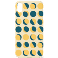 Moon Phase Pattern Phone Case for iPhone and Android - iPhone 6S - Tough Case - Matte