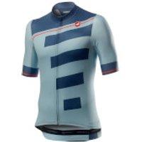 Castelli Trofeo Jersey - XS - Winter Sky/Light Steel Blue