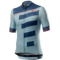Castelli Trofeo Jersey - M - Winter Sky/Light Steel Blue