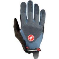 Castelli Arenberg Gel LF Gloves - XS - Dark Steel Blue/Light Steel Blue