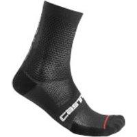 Castelli Superleggera 12 Socks - XXL - Black