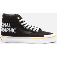 Vans X National Geographic Sk8-Hi Reissue 138 Trainers - Logo - UK 5