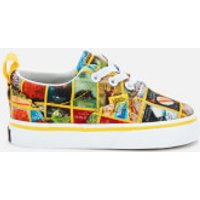 Vans X National Geographic Toddlers' Era Elastic Lace Trainers - Multi Covers/True - UK 5 Toddler