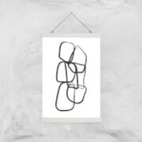 Sweet 17 Giclee Art Print - A3 - White Hanger - Sweet Gifts