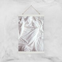 Bed Giclee Art Print - A3 - White Hanger - Bed Gifts