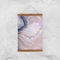 Indigo Lull Giclee Art Print - A3 - Wooden Hanger - Indigo Gifts